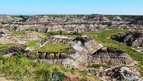 horseshoe canyon alberta travel photography series