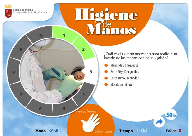 Día del lavado de manos: el cinco del cinco