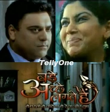 Bade Acche Lagte Hain on Sony TV - An Ekta Kapoor serial