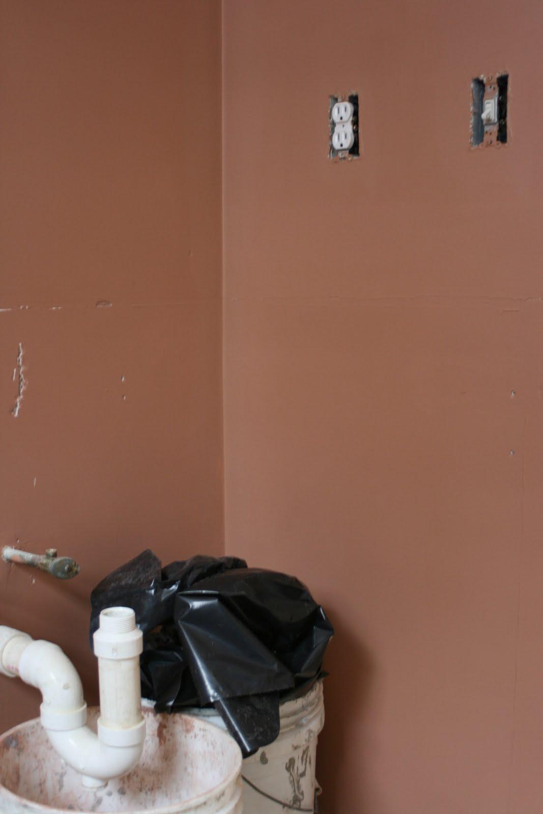 Knit Jones: Half Bath Remodel....Day 1