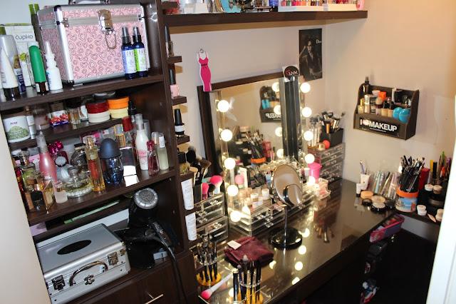 UPDATE Moja makeup kolekcija i organizacija (11/2013)