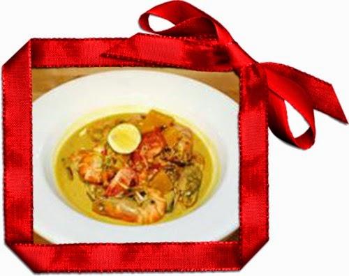 Tumis-tumis Ramadan Chef Sabri, - KARI IKAN TENGGIRI DENGAN BENDI, UDANG GALAH MASAK LEMAK DENGAN LABU, SAYUR GORENG LO-HAN