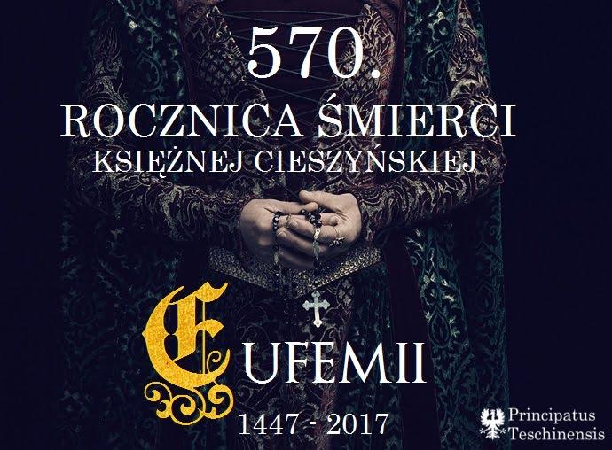 570. rocznica śmierci księżnej cieszyńskiej Eufemii