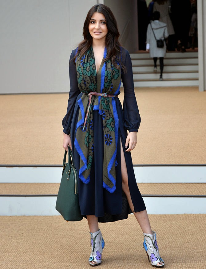 Anushka Sharma spotted at London Fashion Week