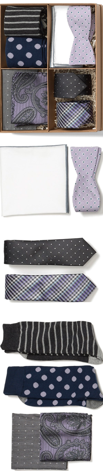 The Tie Bar Large Style Box Nordstrom Lavender/Grey