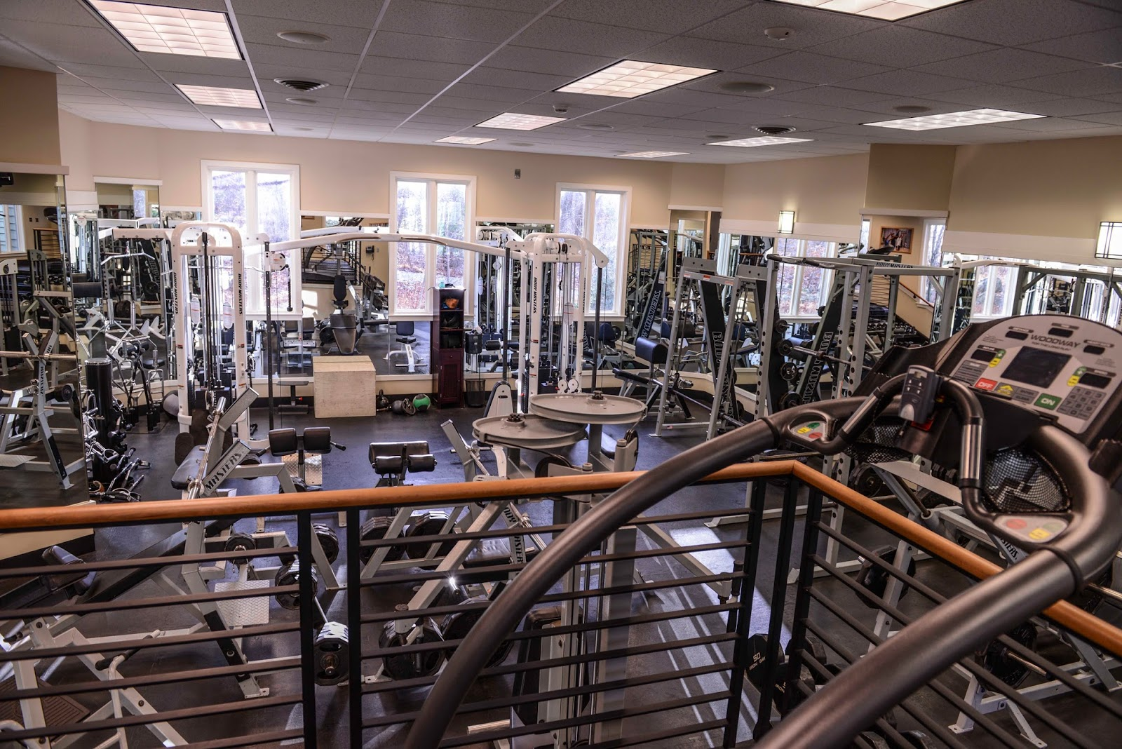 About camp david wye oak fitness center for Fitness gym