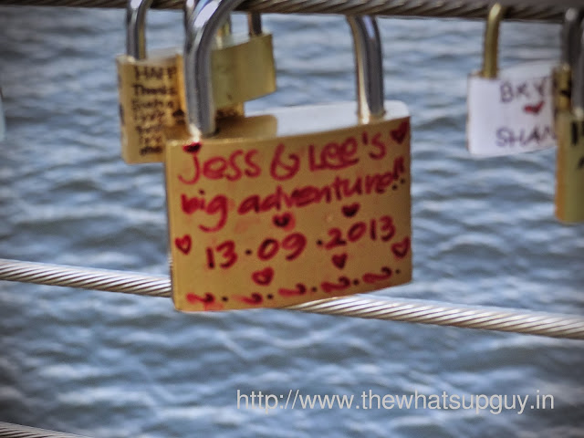 Love Locks in Southbank