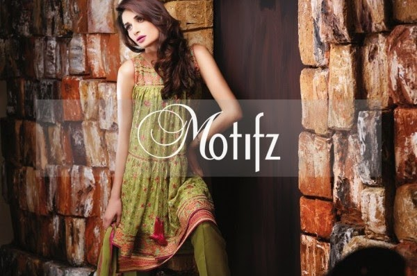 Motifz stylish chiffon dresses