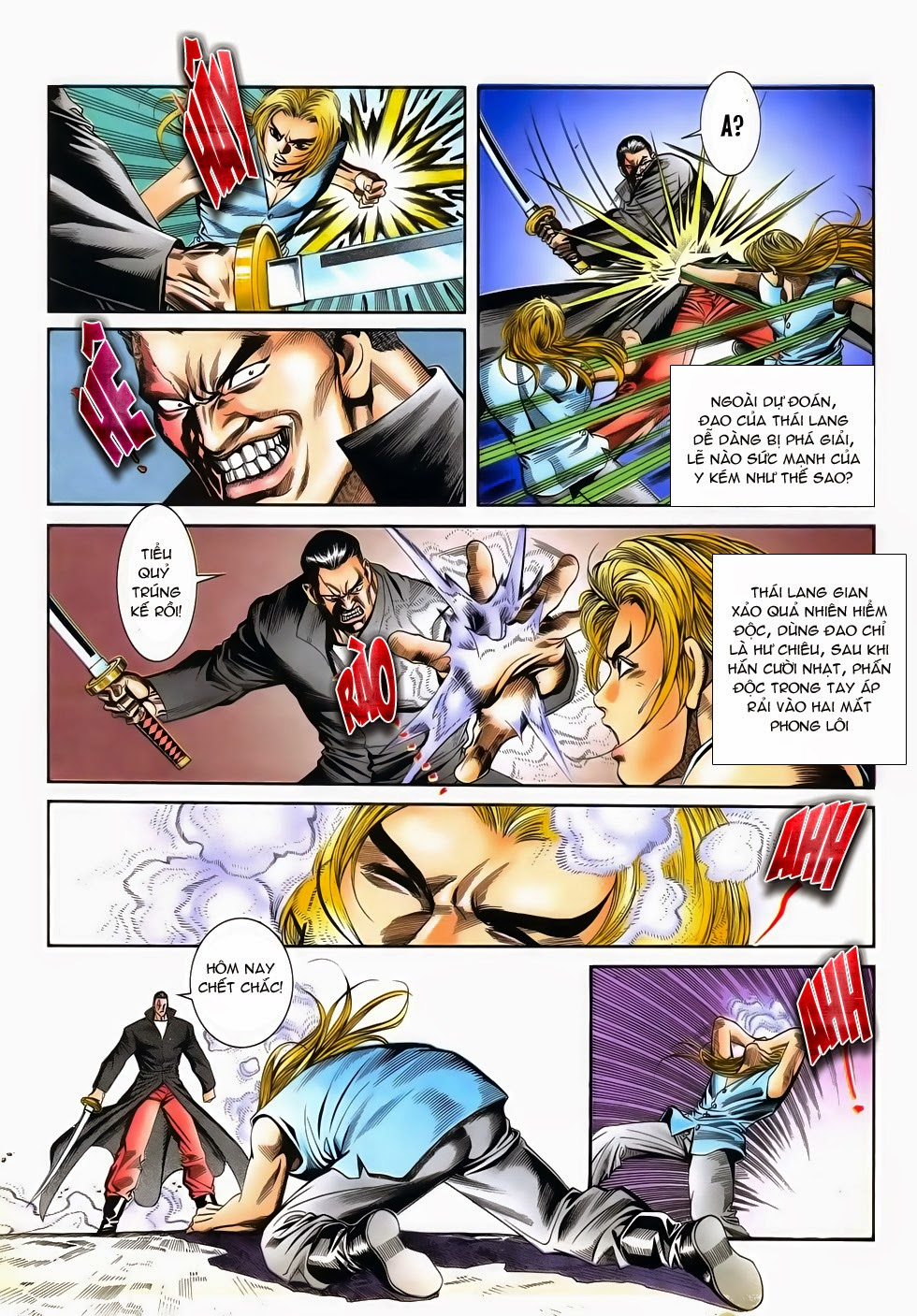 Long Hổ Phong Bạo chap 3 - Trang 8