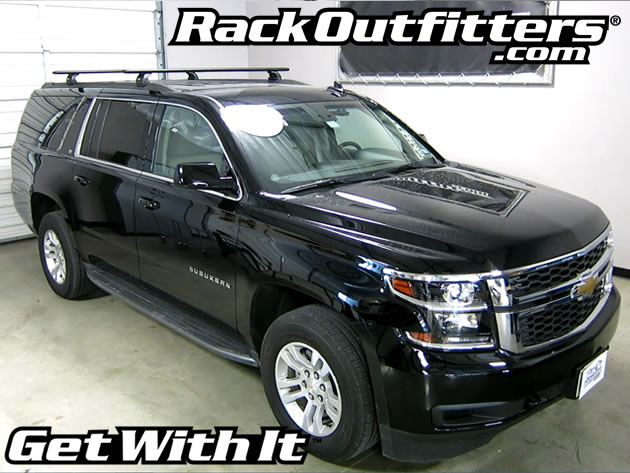 Superb This Complete Multi Purpose Base Roof Rack Is For The 2015, 2016, And 2017*  Chevrolet Suburban With Fixed Points On A Flush Side Rail, Identified By  Flip Up ...