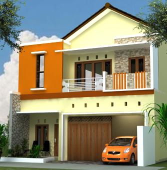 model rumah 2 lantai on Model Rumah Minimalis: Rumah Minimalis 2 Lantai T.164