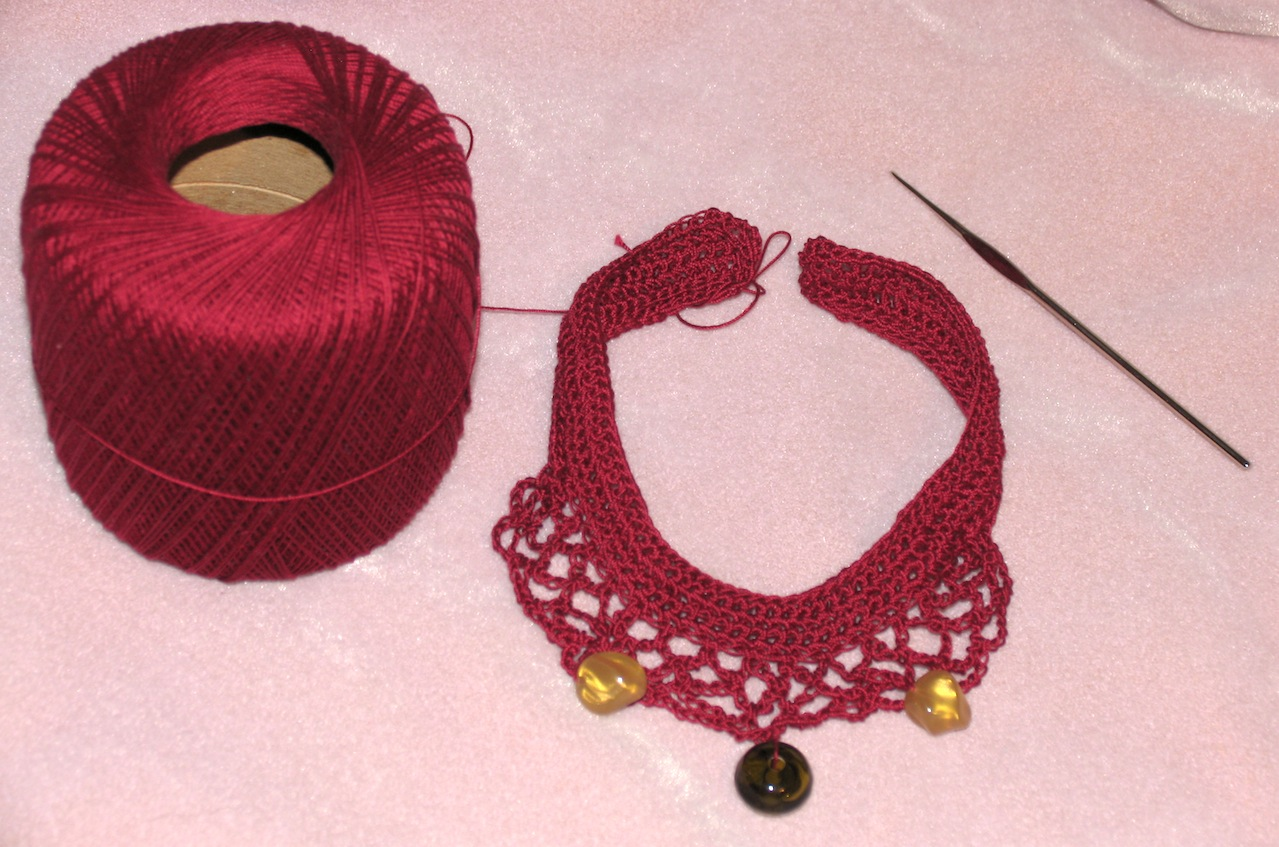 Crochet Necklace : Crocheted Necklaces