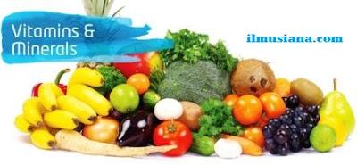 Vitamin & Mineral ini Wajib untuk Tubuh!