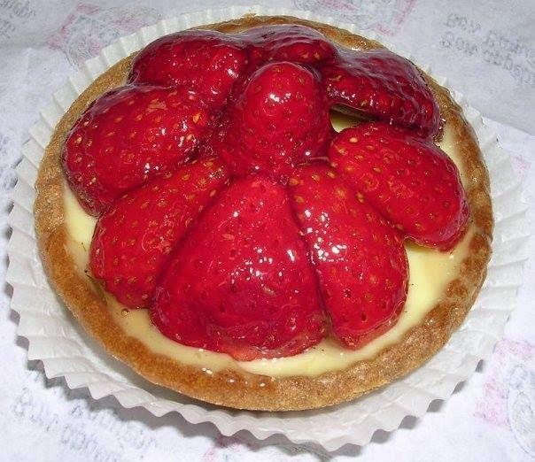 Recette du tarte aux fraises