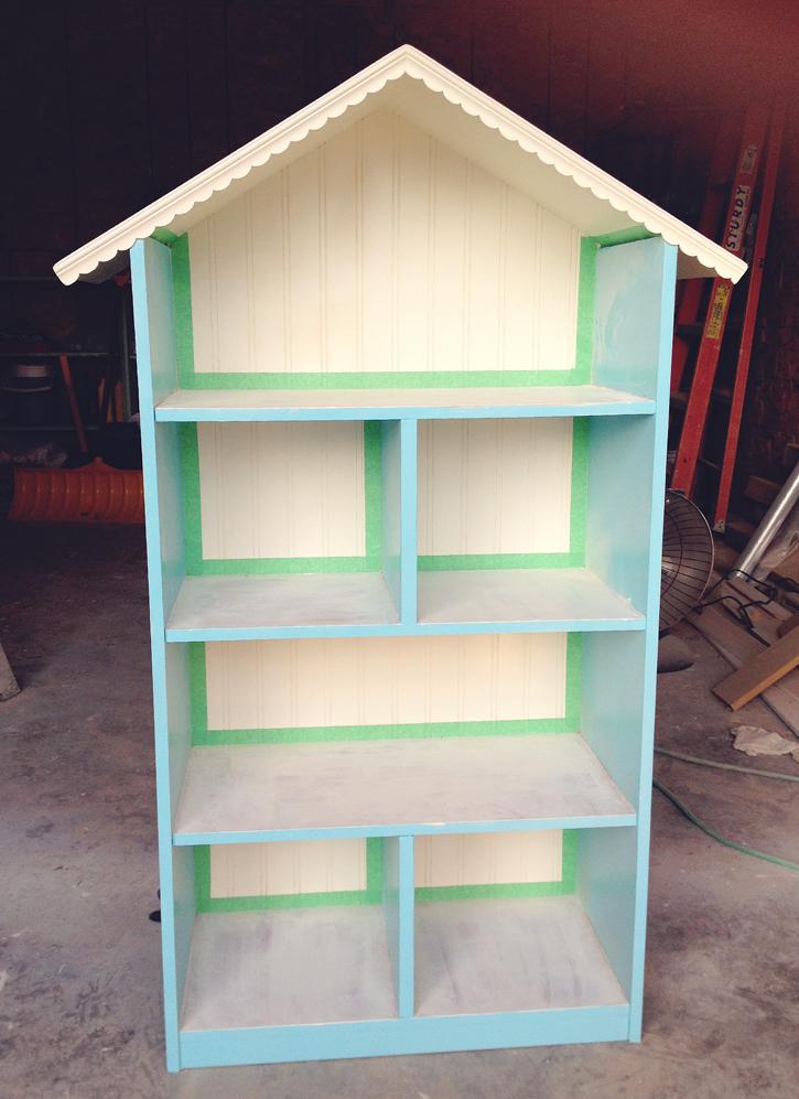 Diy dollhouse bookshelf solutioingenieria Images