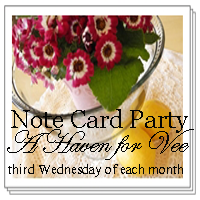 Your chance to use four of your own favorite photos to make NOTE CARDS.