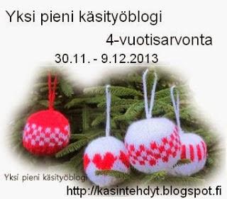 http://kasintehdyt.blogspot.fi/2013/11/arvonnan-aika.html