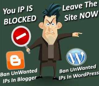 Làm thế nào để Chặn  Địa chỉ IP của một ai đó trên Blogspot