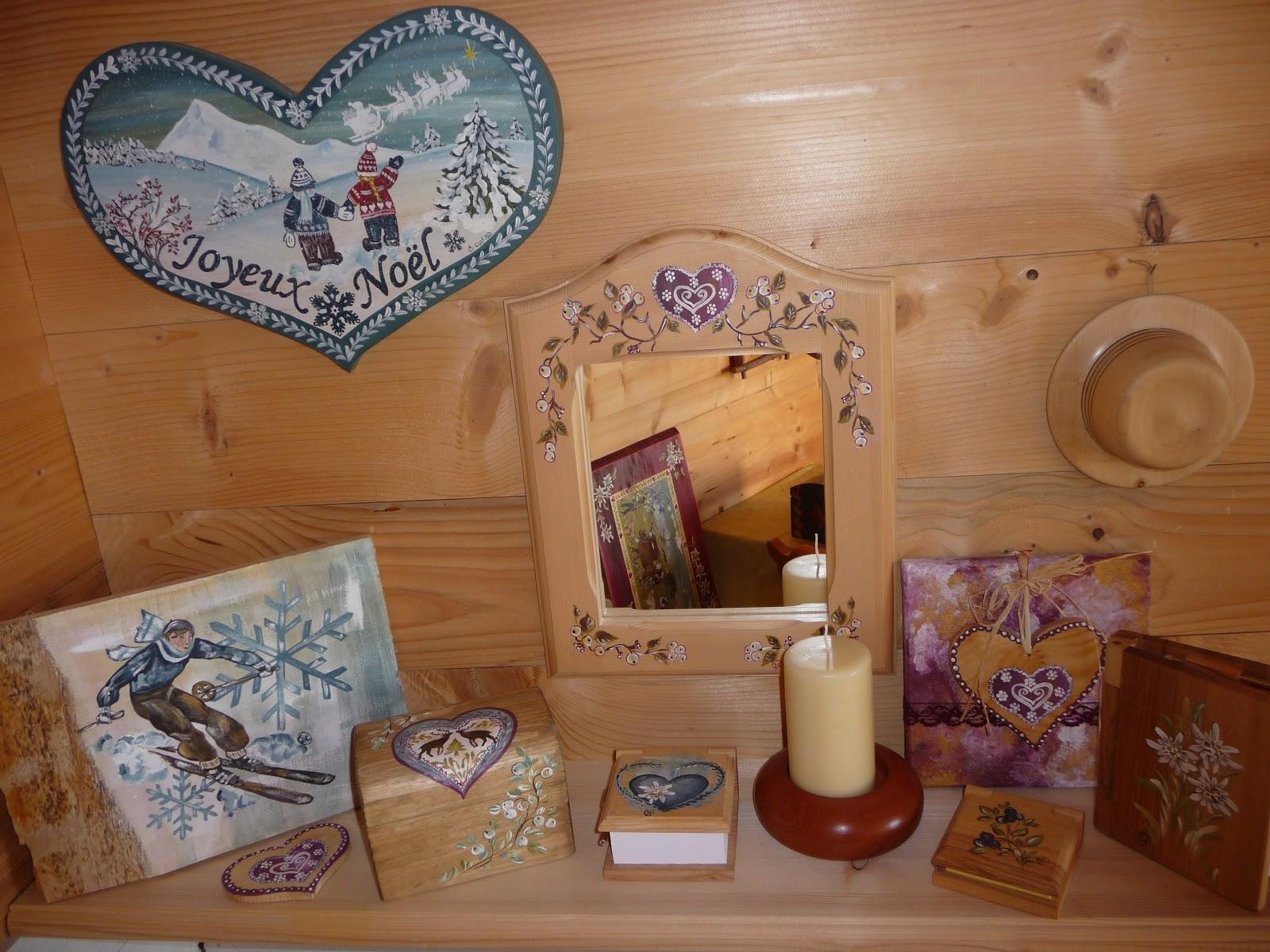 A la giettaz en aravis savoie val d 39 arly mont blanc randonn es et peinture sur bois - Peinture acrylique sur bois ...