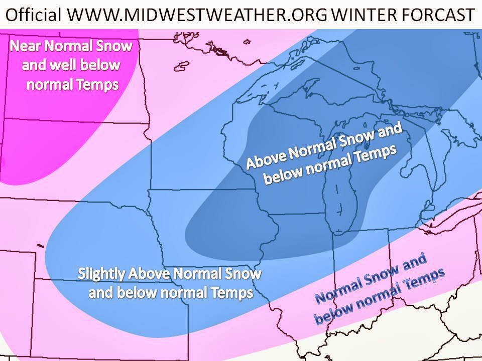 Winter Weather Blog: Official Midwest Winter Forecast 2013-2014