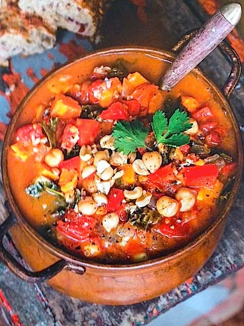 The Relished Roost: Fall Vegan Stew!