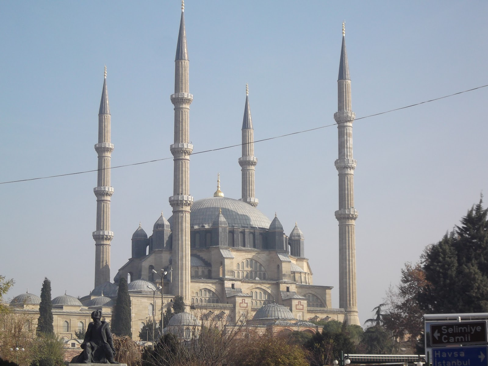 Selimiye Mosque, Edirne  Turkeys Travel Photos