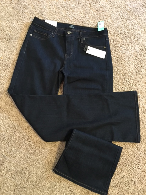 Dolce bootcut jean just black