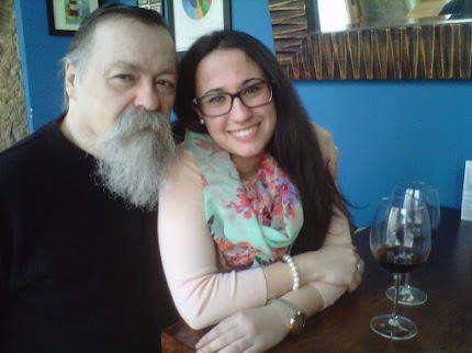 Poetas Pere Bessó y Ángela Moreno Gutiérrez