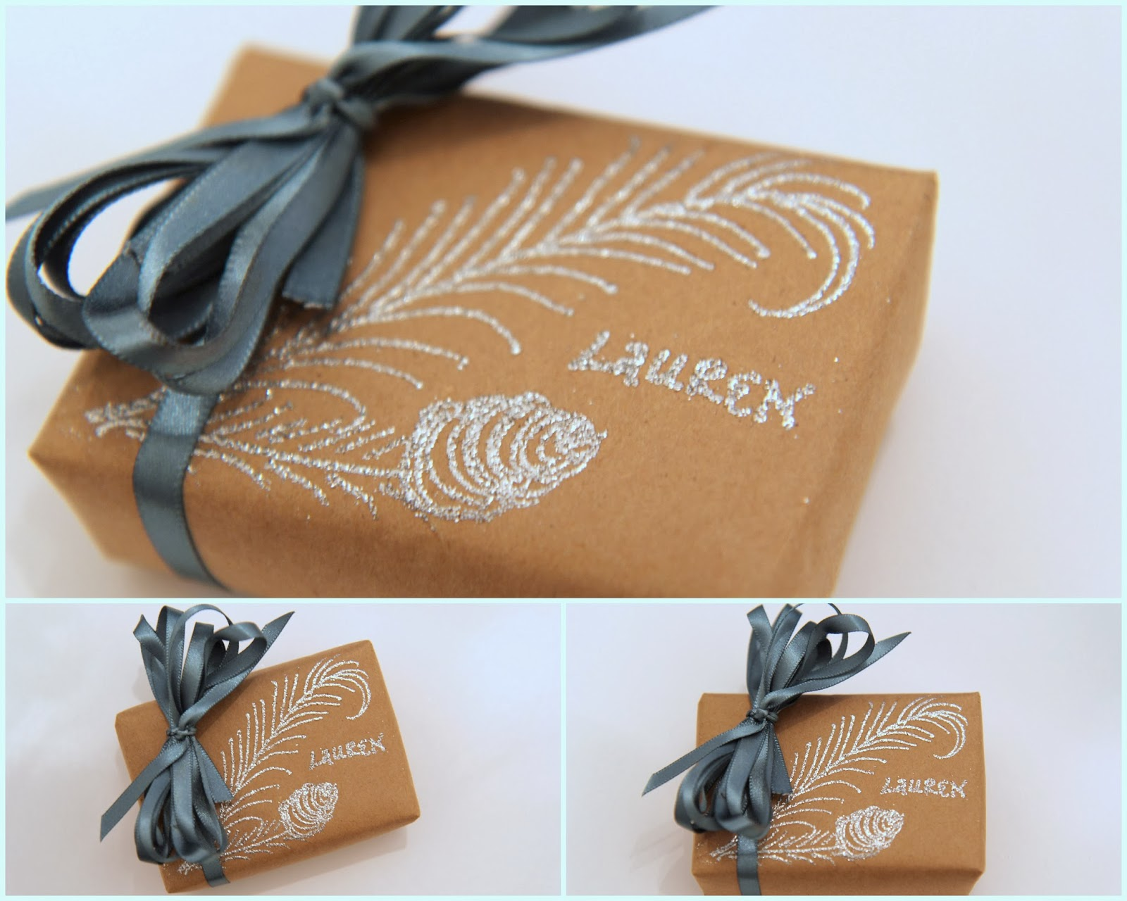 Personalized-Christmas-gift-wrapping