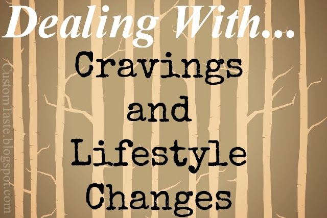 Dealing With... cravings and lifestyle changes header