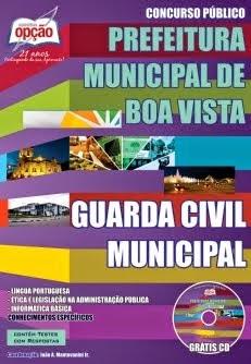 Concurso Prefeitura de Boa Vista / RR 2014 TODOS OS CARGOS