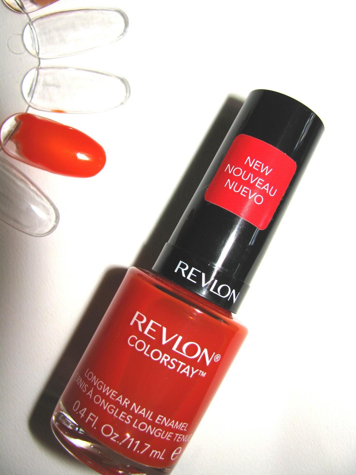 The Beauty Alchemist Revlon Colorstay Nail Enamel In