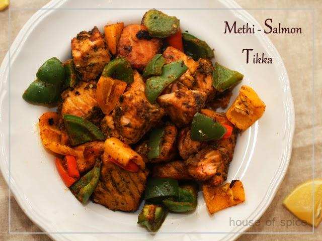 House Of Spice: Methi Salmon Tikka