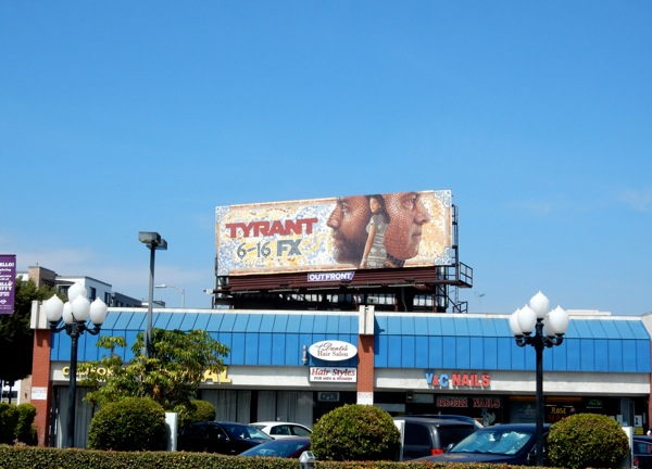 Tyrant season 2 mosaic billboard