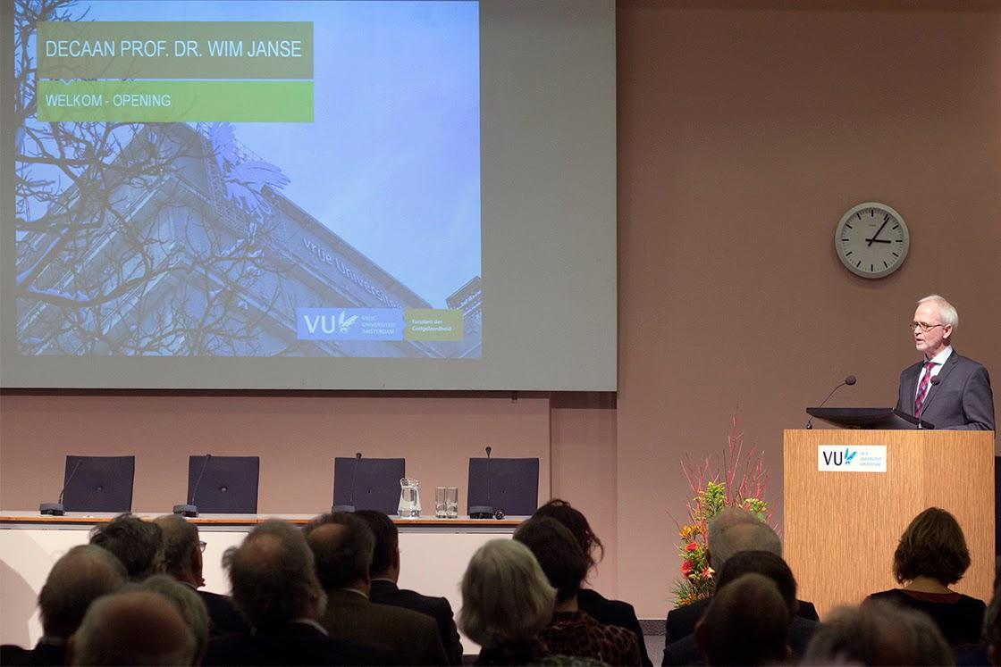 professor Wim Janse, dean
