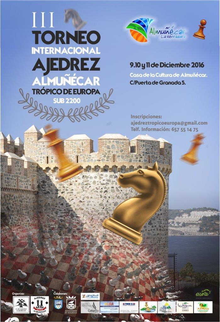 III Torneo Internacional de Ajedrez Almuñécar Trópico de Europa