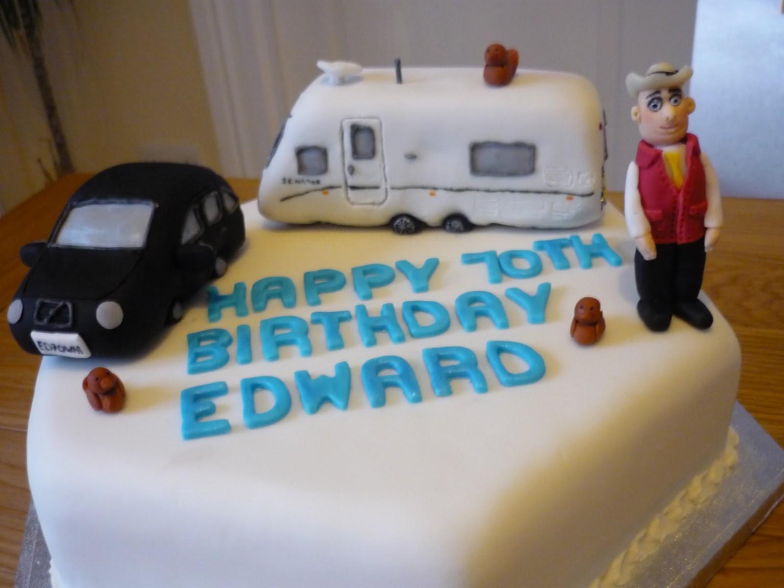 Cake Decoration Caravan : Eat Cakes by Susan: Car/caravan cake