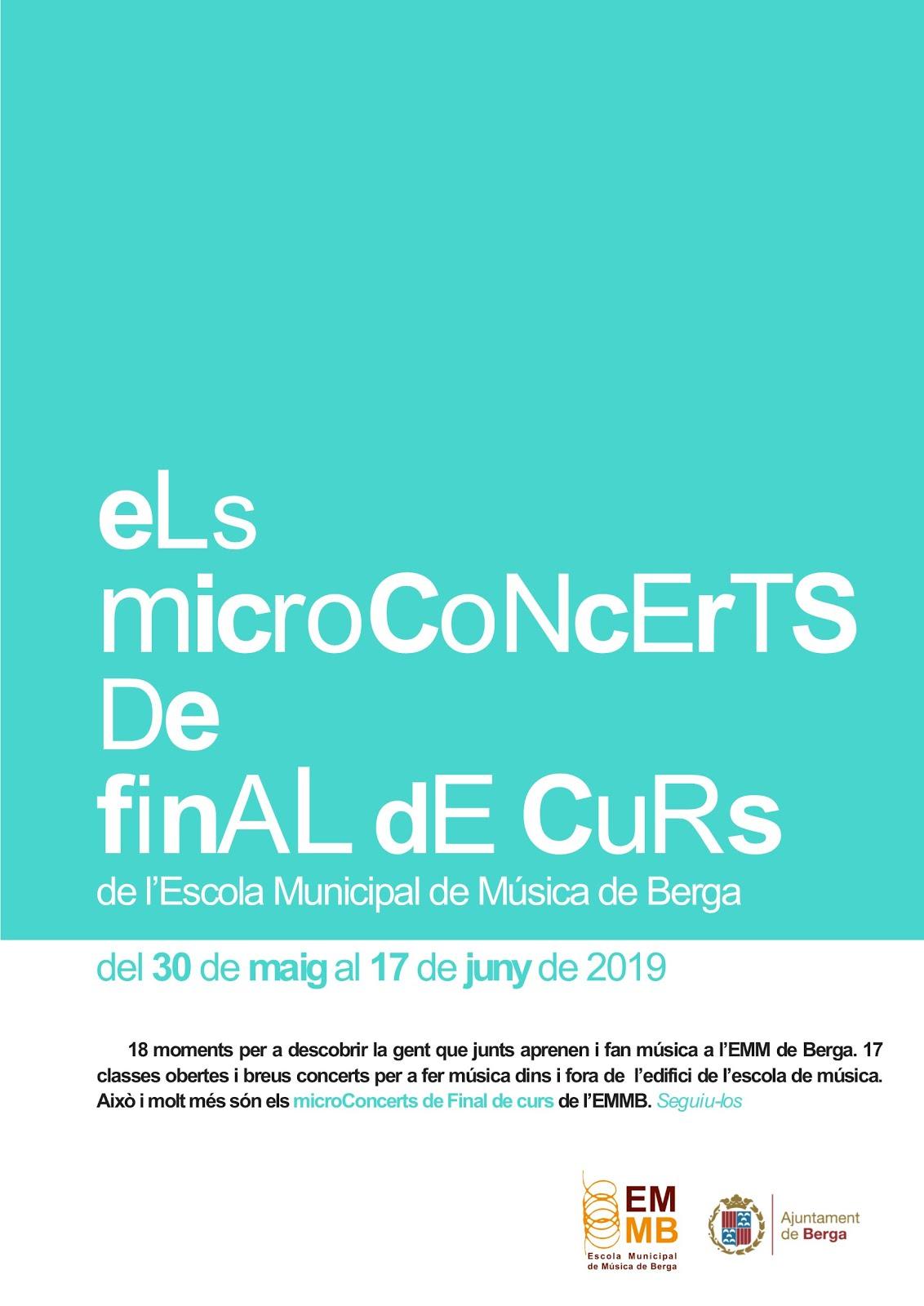 Microconcerts de final de curs