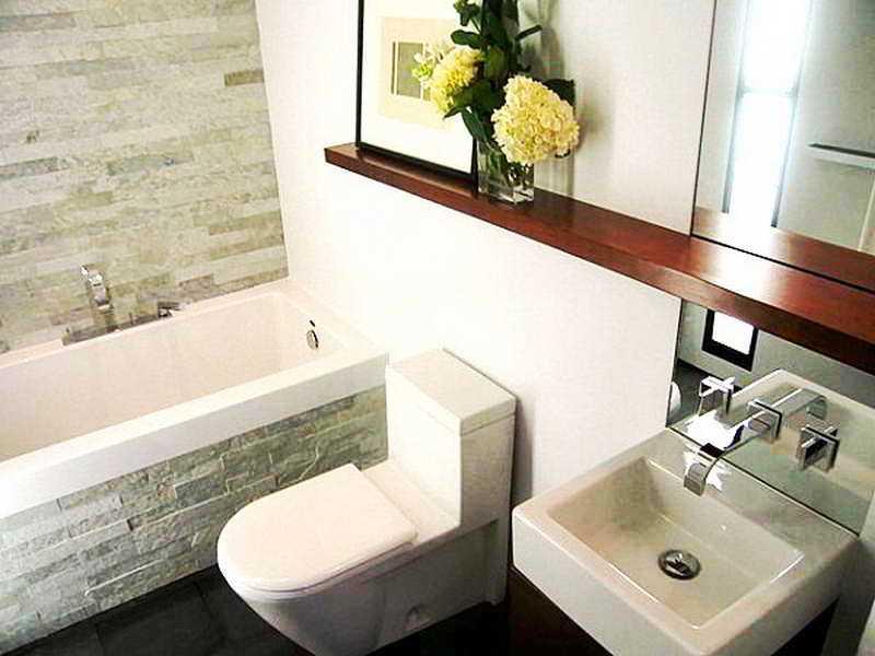 27 banheiros decorados  grandes e pequenos Confira!  Decor Alternativa -> Banheiro Decorado Ap