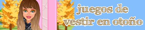 juegos de vestir en otoño