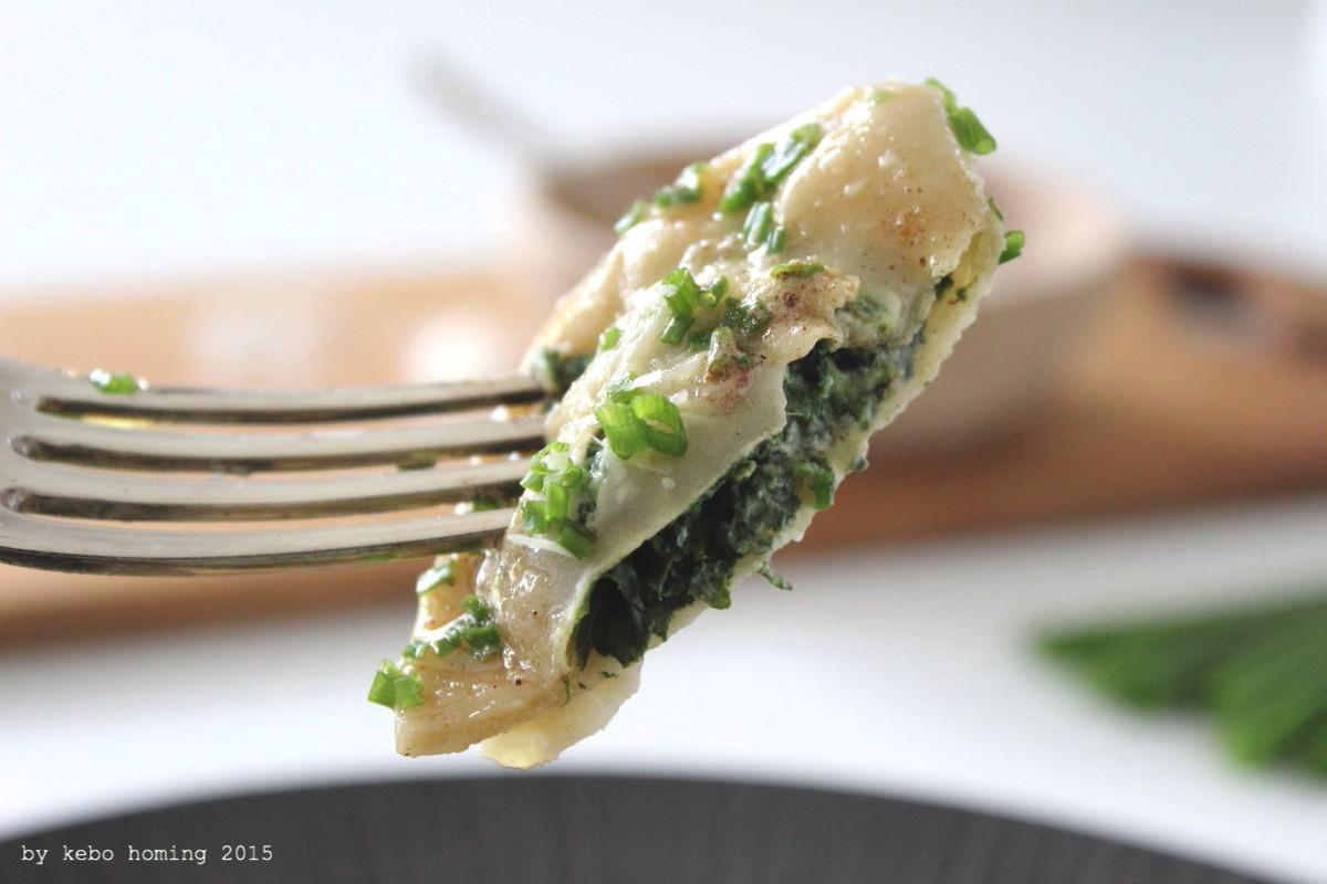 Südtiroler Rezept, Schlutzkrapfen, Teigtaschen, Spinat, Topfen, Quark, Typisch für...monatliches Blogevent