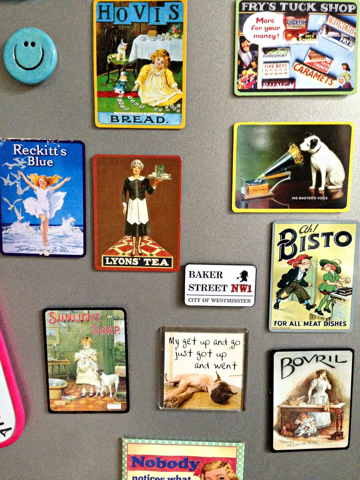 Items I Hoard- Fridge Magnets