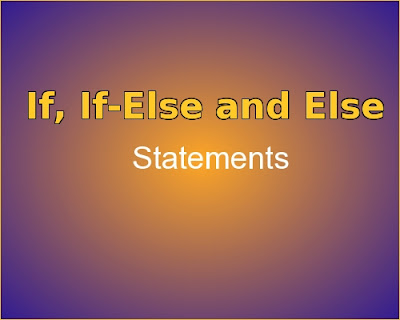 C++ program for if, if-else and else statements