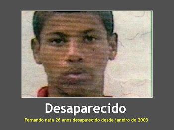 Desaparecido desde janeiro de 2003