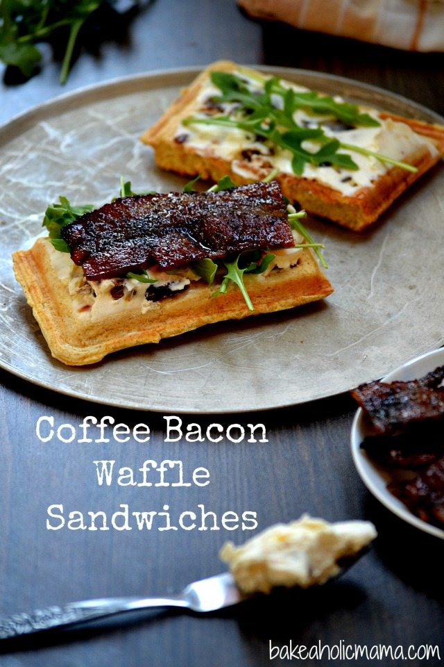 Coffee Bacon Sandwiches Recipe — Dishmaps