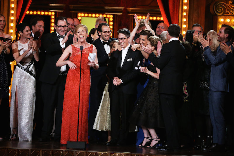Fun Home wins Tony Awards for Best Musical. Photo by Sara Krulwich/The New York Times.