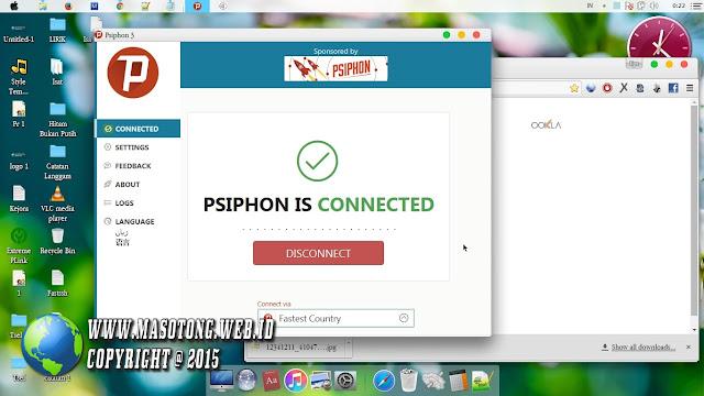 Cara Menggunakan Psiphon di PC/Laptop (Internet Gratis)