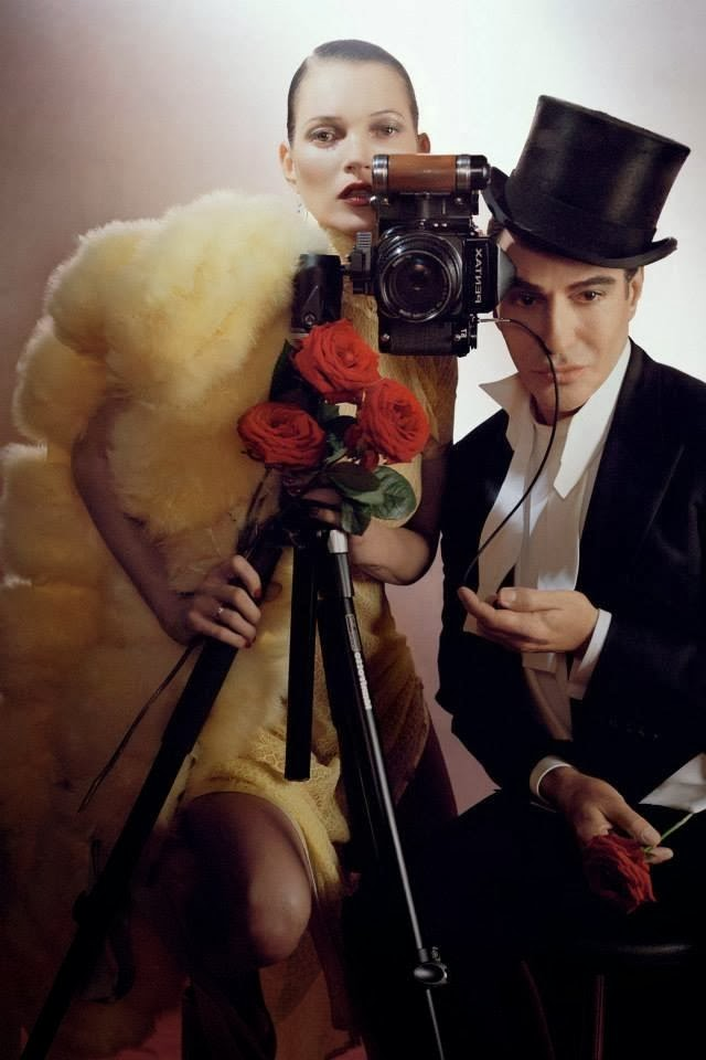 JOHN GALLIANO AND KATE MOSS VOGUE UK