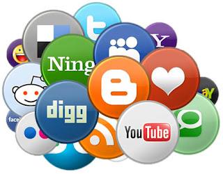 Blogger Dersleri - Blogger Dönen Sosyal Paylaşım Sitesi Butonları