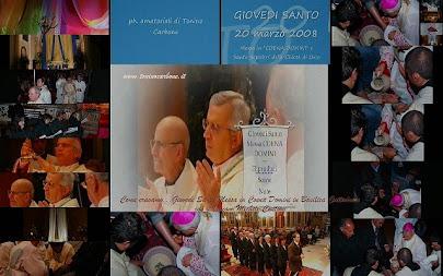 Come eravamo... videoclip fotografico del Giovedì Santo - Messa Coena Domini 20 marzo 2008